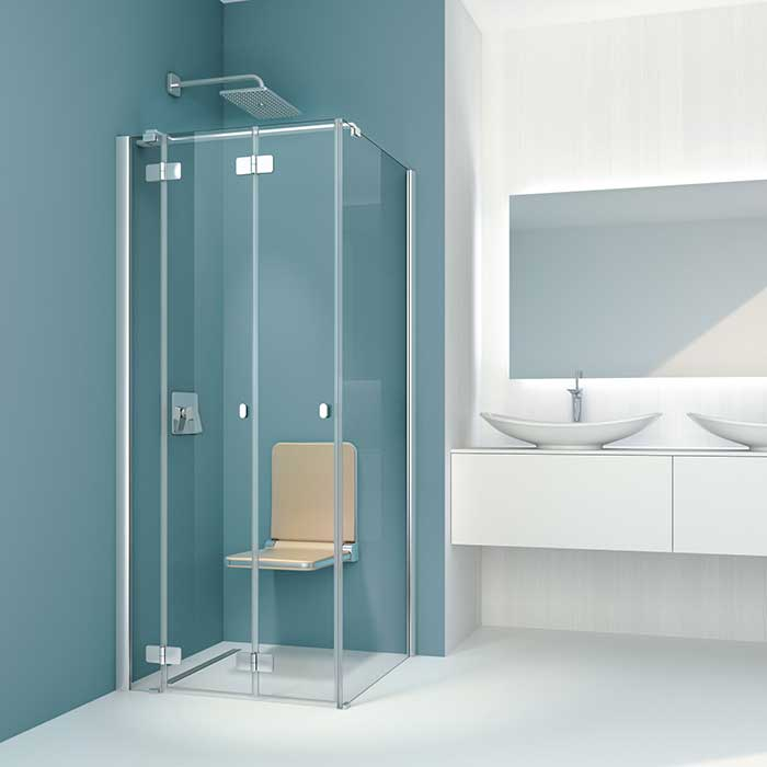 komfortabel duschen trotz handicap ikz. Black Bedroom Furniture Sets. Home Design Ideas
