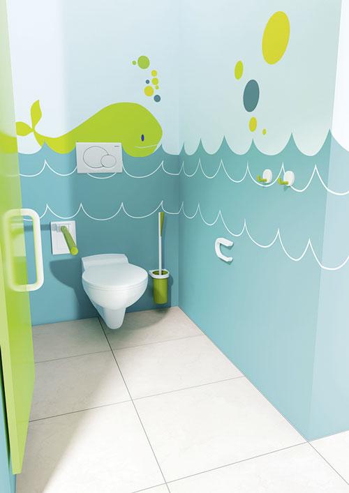 HEWI: Für ein farbenfrohes Kinderbad | IKZ