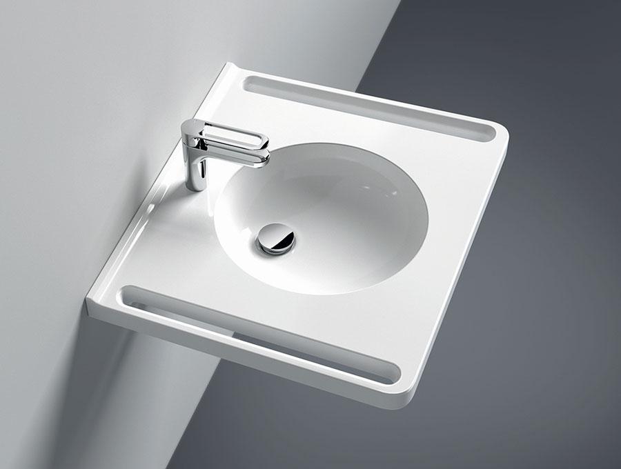 HEWI: Neue Waschtische mit ergonomischen Griffen | IKZ