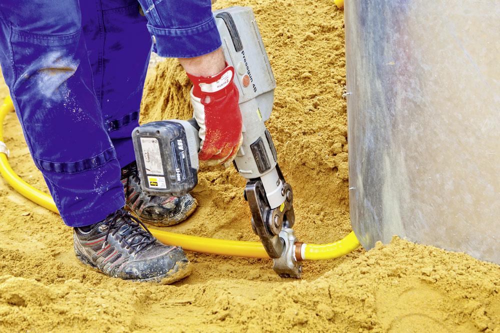 Super PE-Rohre nicht ungeschützt im Freien verlegen | IKZ XB64