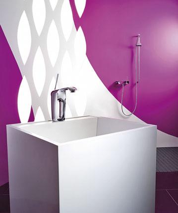 weniger wird mehr design trends in b dern armaturen f r. Black Bedroom Furniture Sets. Home Design Ideas