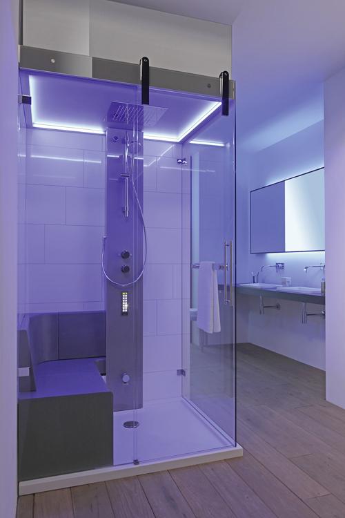 repabad bietet individuell angefertigte dampfbder die den eigenen vorstellungen vollstndig anpassbar sind stimulierende beleuchtung darf auch hier nicht - Infrarotkabine Kombiniert Mit Dusche