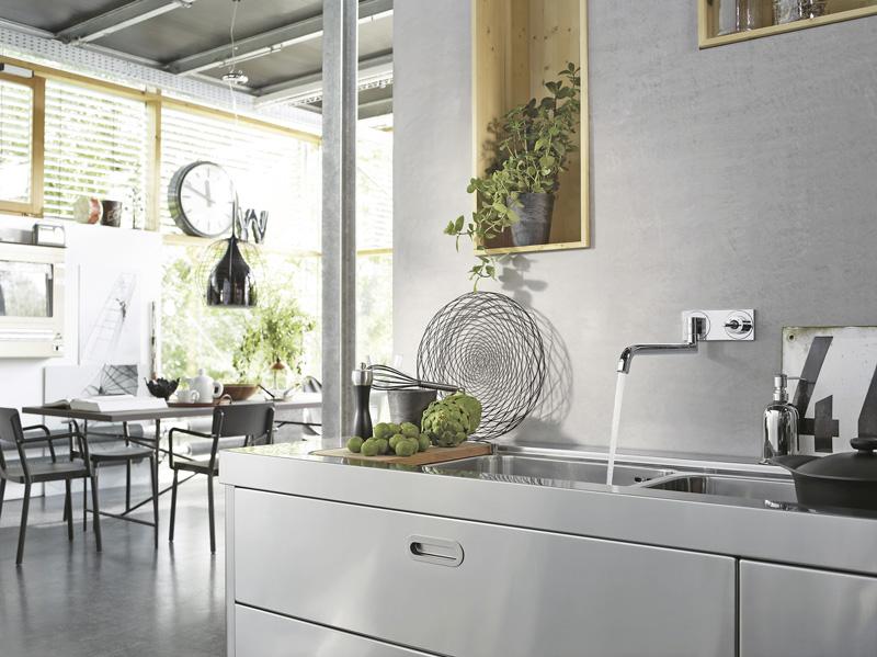 Armaturen küche wandmontage  Profis an der Spüle - Bei Küchenarmaturen kommt es auf die Details ...