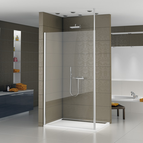 duschkomfort in anderer dimension walk in anlagen gewinnen im privatbad immer mehr an. Black Bedroom Furniture Sets. Home Design Ideas
