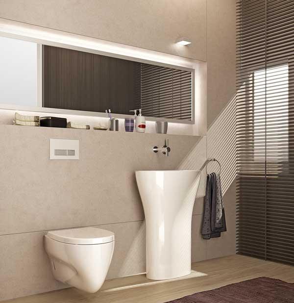 Badezimmer modelle  Soft, smart und stimmungsvoll - So stylt sich das Badezimmer heute ...