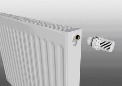 hydraulischer abgleich inklusive heizk rper mit werksseitig voreingestellten thermostatventilen. Black Bedroom Furniture Sets. Home Design Ideas
