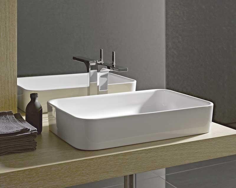 Blickfang im Bad - Waschtische: Die Materialien lassen vielfältige ...