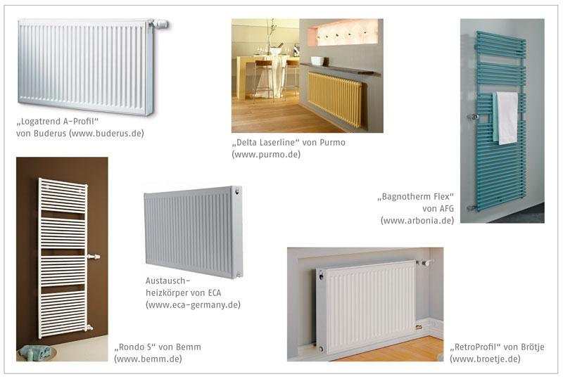 alt raus neu rein mit neuen heizk rpern die auf die nabenabst nde alter din radiatoren. Black Bedroom Furniture Sets. Home Design Ideas