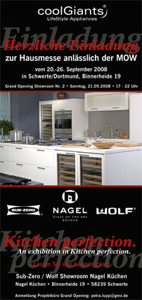 Sub Zero Wolf Showroom Bei Nagel Ikz