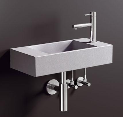 hightech design products ag waschtisch f r das g ste wc ikz. Black Bedroom Furniture Sets. Home Design Ideas