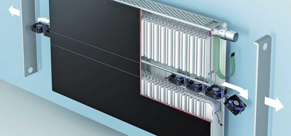 kombinierter komfort e2 technologie sorgt f r behagliche w rme bei niedrigen. Black Bedroom Furniture Sets. Home Design Ideas