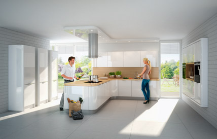 Nolte Küchen: Elegante Rundungen   IKZ