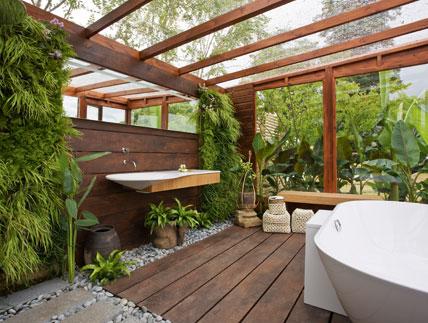 Eine Idealvorstellung: Das Bad ...