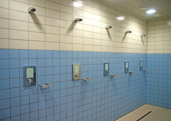 Öffentliche Dusche Videos