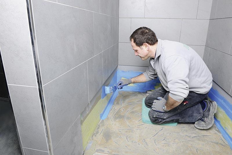 Richard brink wartungsfreies edelstahl duschboard ikz - Duschwanne abdichten wand ...