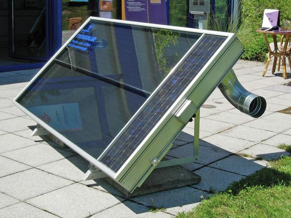 nachfrage nach luftkollektoren steigt produkt mit gro em potenzial mit solarluft heizen und. Black Bedroom Furniture Sets. Home Design Ideas