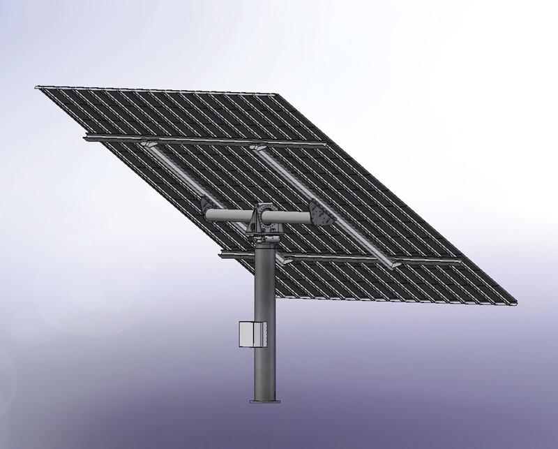 Suntracking Systeme Erfordern Robuste Mechanik Und