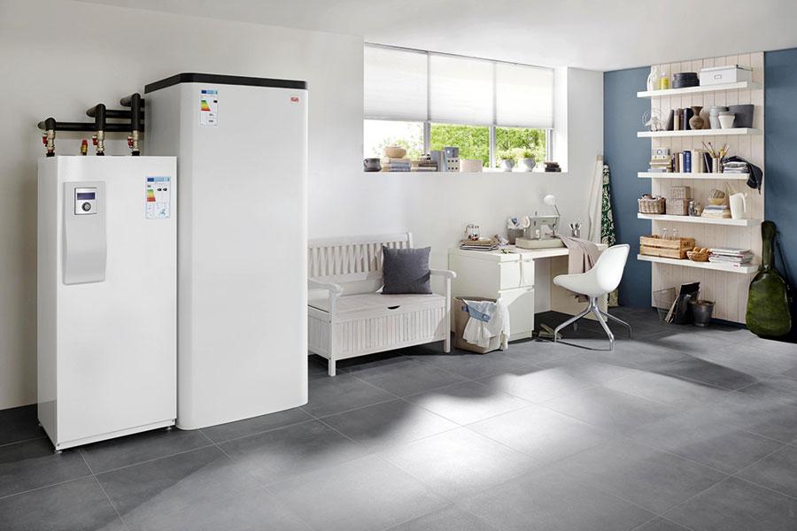 Bosch Kühlschrank Wasser Sammelt Sich : Doppelfunktion: heizen und kühlen ikz