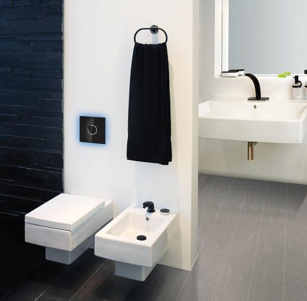 grohe deutschland vertriebs gmbh wc bet tigungsplatten mit farbigen leuchtdioden ikz. Black Bedroom Furniture Sets. Home Design Ideas