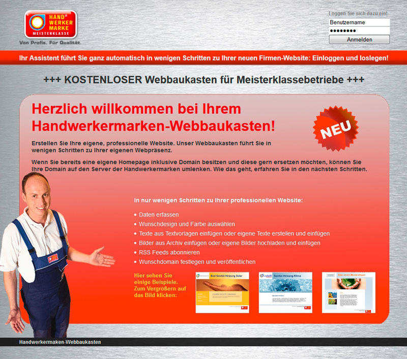 Website Erstellen Kostenlos
