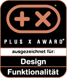 begehrte siegel vergeben plus x award jury zeichnete shk produkte aus ikz. Black Bedroom Furniture Sets. Home Design Ideas