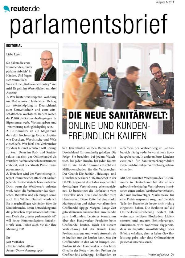 reuter.de newsletter