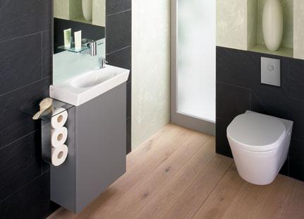 Wc schrank  Schönheitskur fürs Gäste-WC: Renovieren im Handumdrehen mit ...