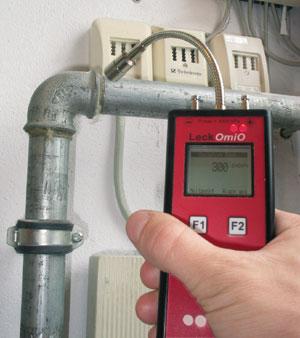 Gaskonzentration
