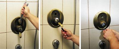 Dusche mischbatterie unterputz
