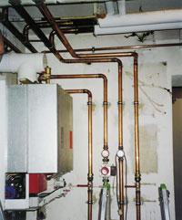 Häufig Dämmen von Sanitär- und Heizungsrohren UV84