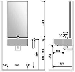 Berühmt Pneumatik schaltzeichen: Waschtisch höhe norm JA11