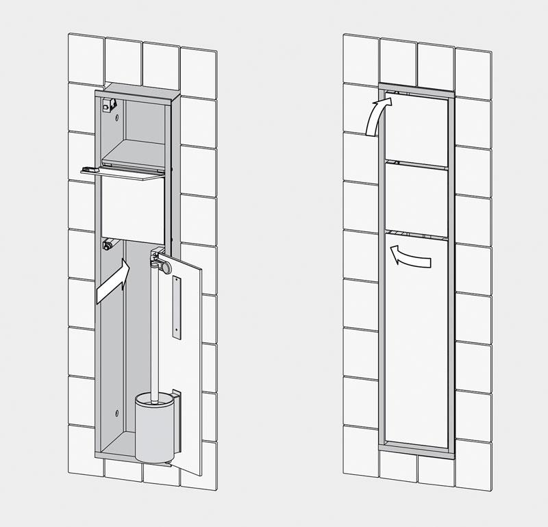 viel platz im kleinen raum integration von funktionsorientierten moduleinheiten in. Black Bedroom Furniture Sets. Home Design Ideas