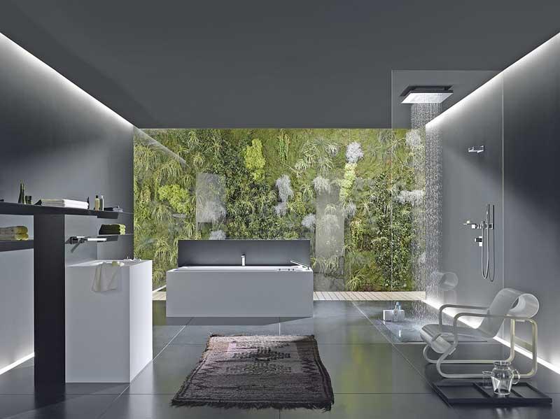 badkonzepte mit zukunft nachhaltigkeit im badezimmer spiegelt sich nicht zuletzt im design und. Black Bedroom Furniture Sets. Home Design Ideas