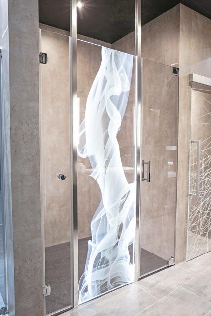 Ob transparent matt oder gespiegelt ikz de - Glasduschwand reinigen ...