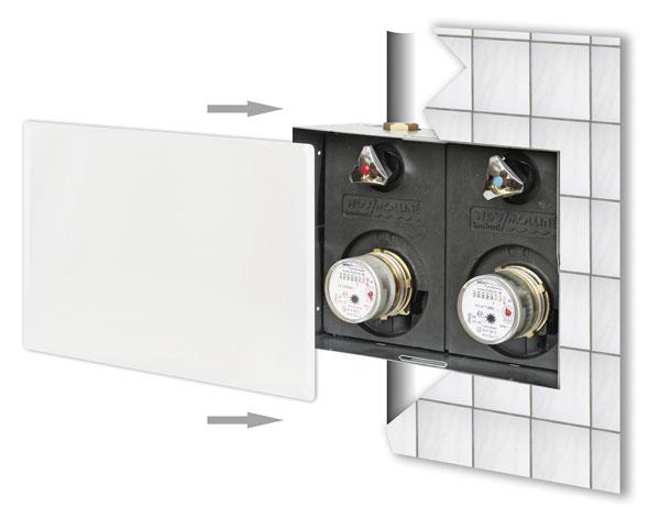 WDV/Molliné: Neuer Montageblock für Wasserzähler: IKZ.DE