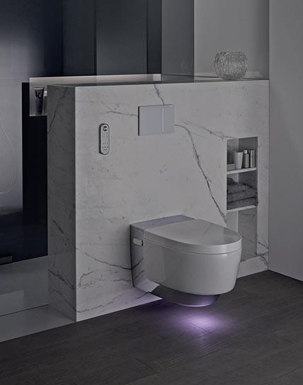 geberit licht am wc setzt das ganz bad in szene ikz de. Black Bedroom Furniture Sets. Home Design Ideas