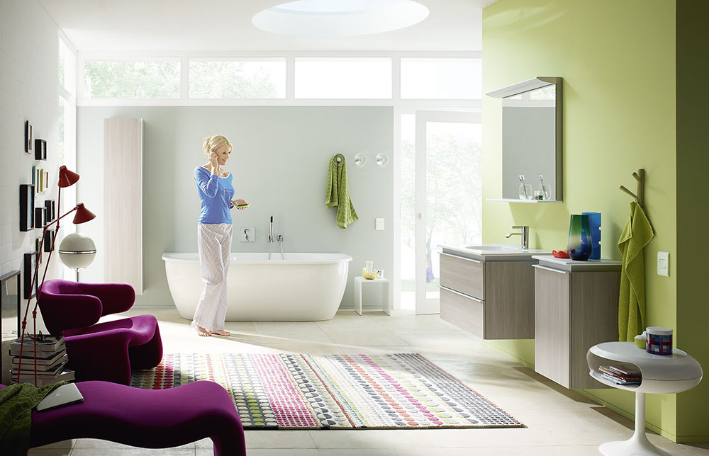 Wohnen Im Badezimmer: Ikz.de Badezimmer Wohnen