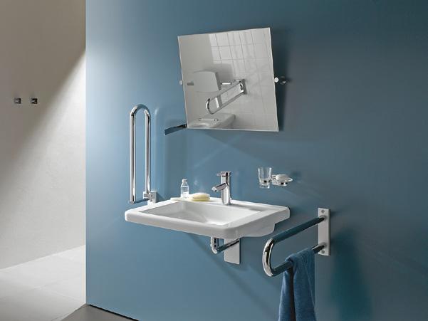 Bewegungsfreiheit im bad komfort im bad ist ein thema f r alle generationen und nicht nur f r - Spiegel fur bad und wc ...