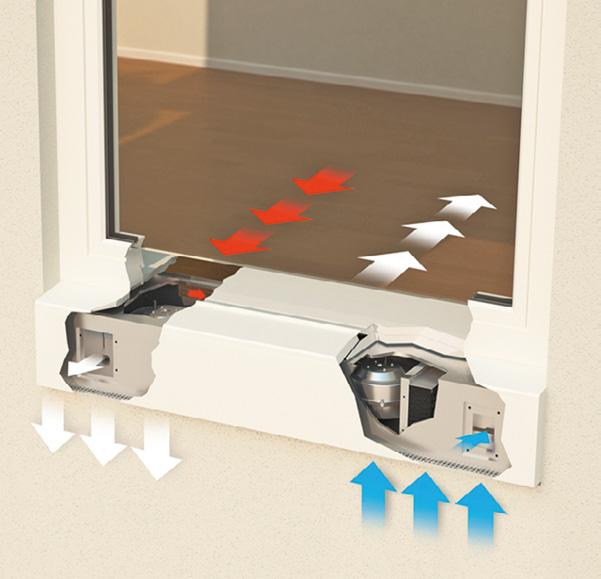 ganzheitliche systemplanung dezentrale klimatisierung und bedarfsl ftung f r ein behagliches. Black Bedroom Furniture Sets. Home Design Ideas