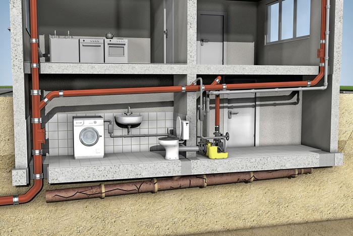 Hebeanlage Dusche Einbau : Hebeanlagen für jeden entwässerungsfall ...
