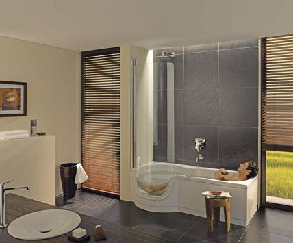 Altersgerechte badewanne mit dusche - Eckventil waschmaschine