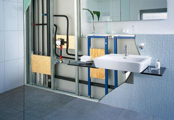 Vorausschauende badplanung installation die zukunft im visier entwicklungstrend - Vorwandinstallation maaye geberit ...